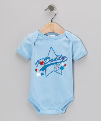 Blue 'I Love Daddy' Bodysuit