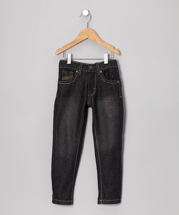 Black Skinny Jeans - Toddler & Boys