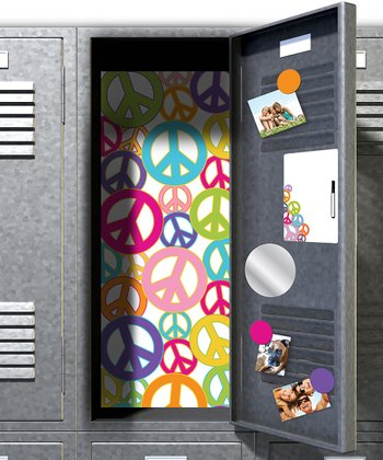Peace Sign Locker Décor Kit