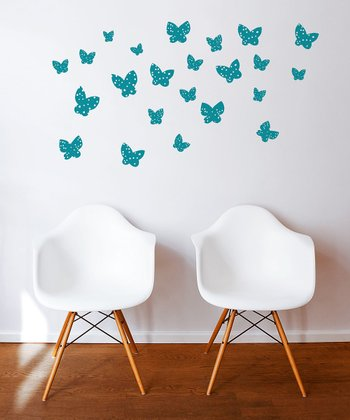 Teal Minna Wall Decal