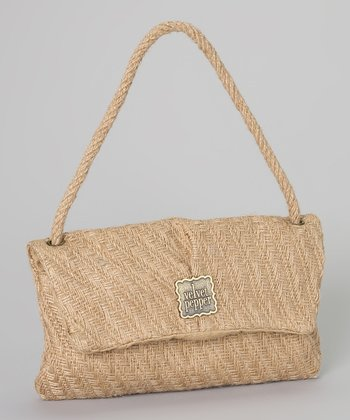 Natural Weave Kristen Shoulder Bag