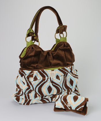 Surfside Lily Tote & Wallet
