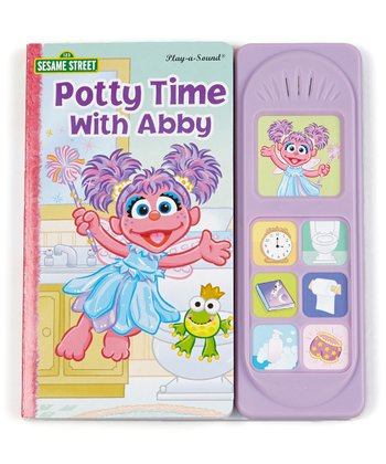 Potty Time with Abby Sound Board Book