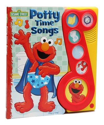 Elmo Potty Time Songs Play-a-Song Board Book