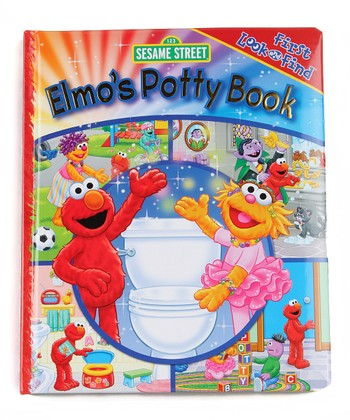 Elmo's Potty Book Padded Hardcover