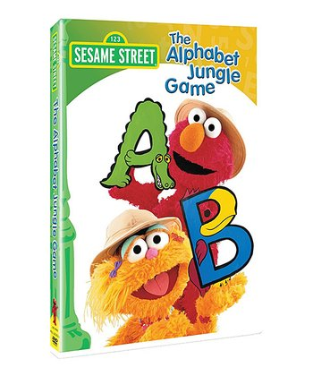 Sesame Street Alphabet Jungle Game DVD