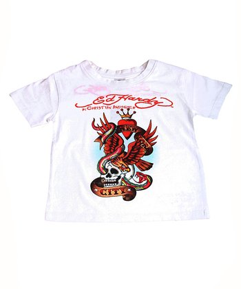 White Eagle & Serpent Tee - Toddler