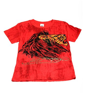Red Lion Tee - Boys