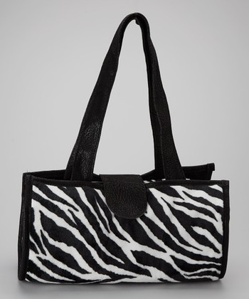 Black Zebra Ultimate Changing Handbag