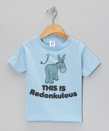 Blue 'This Is Redonkulous' Tee - Toddler & Boys