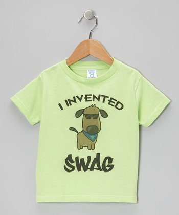 Key Lime 'I Invented Swag' Tee - Toddler & Boys