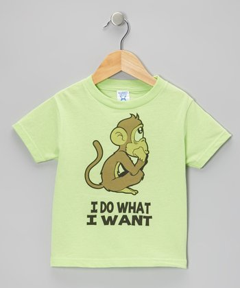 Key Lime 'I Do What I Want' Tee - Toddler & Boys