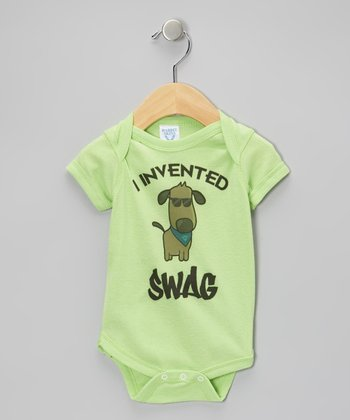 Key Lime 'I Invented Swag' Bodysuit - Infant