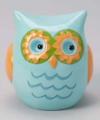 Blue & Yellow Owl Bank