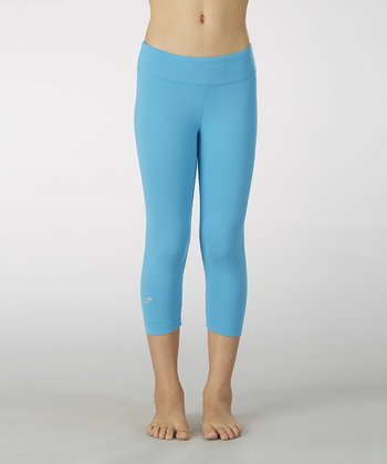 Hawaiian Ocean Sanded Dry Wik Leggings