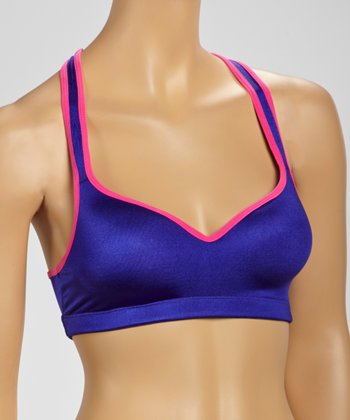 Indigo Padded Sports Bra - Women