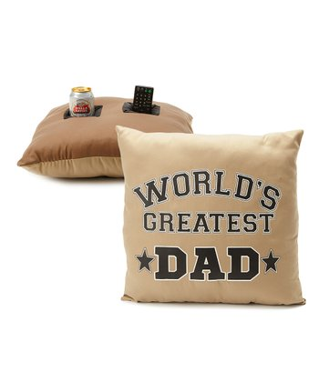 'World's Greatest Dad' Pillow