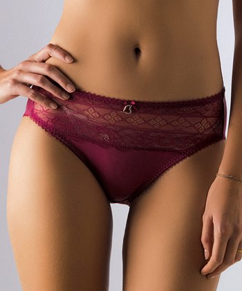 Raspberry Dunes Maternity Briefs