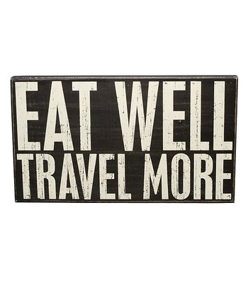 'Eat Well' Box Sign
