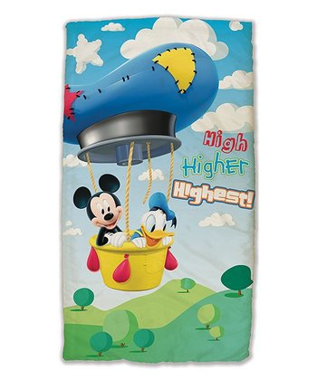 Blue Mickey & Donald High to Highest Sleeping Bag