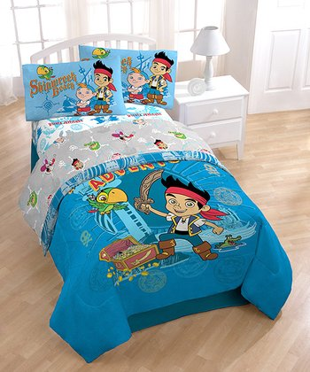 Blue Jake & The Never Land Pirates Pillow Case Set