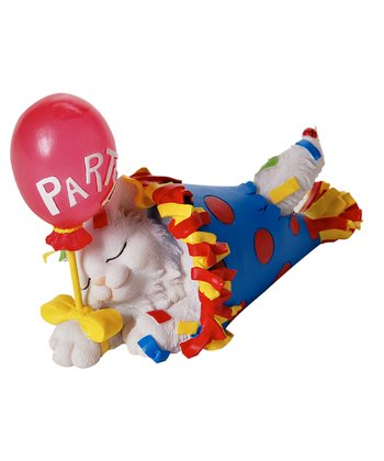 Party Animal Cat Figurine