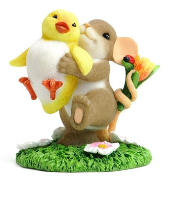Chick to Go Mouse Figurine