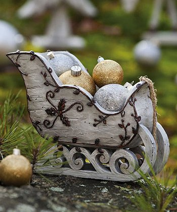 Nature's Promise Sleigh Figurine