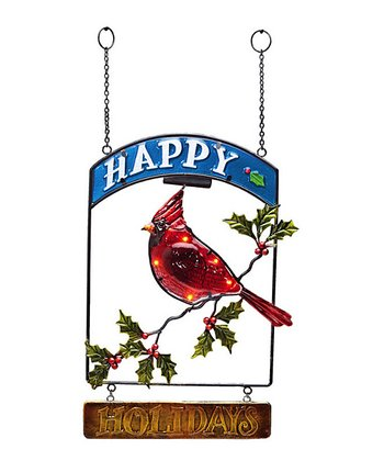 'Happy Holidays' Hanging Ornament