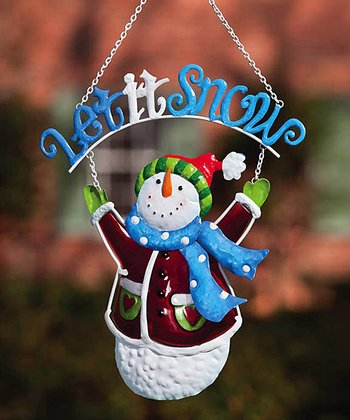 'Let It Snow' Hanging Ornament