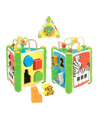 Jungle Fun Shape Sorter Set