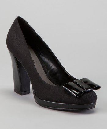 Black Language Platform Pump