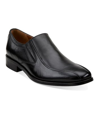 Black Ricardo Slip-On Shoe - Men