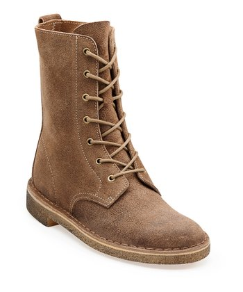 Taupe Distressed Desert Mali Boot - Women