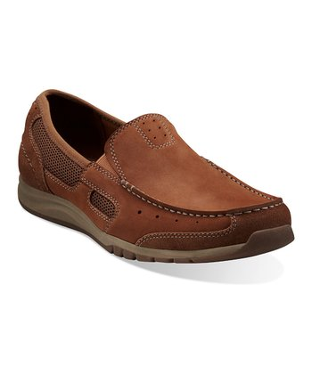 Tan Armada Spanish Slip-On Shoe - Men