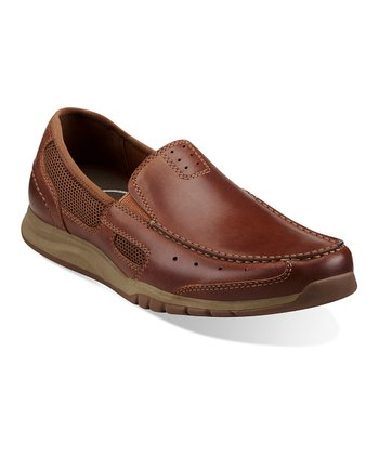Tan Armada Spanish Slip-On Shoe