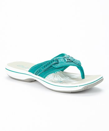 Teal Breeze Sky Sandal - Women