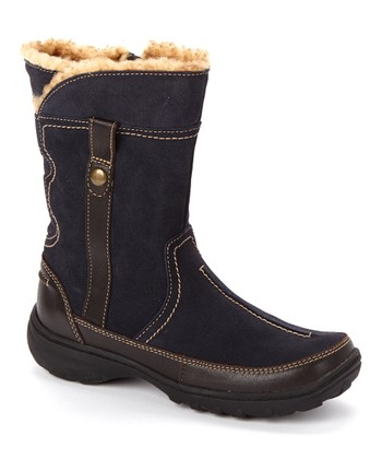 Navy Suede Andes Fortune Q Boot - Women