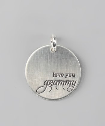 Sterling Silver Expressions 'Love You Grammy' Charm