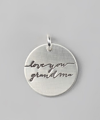 FIVE Sterling Silver Expressions 'Love You Grandma' Charm