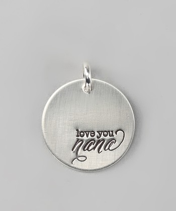 Sterling Silver Expressions 'Love You Nana' Charm