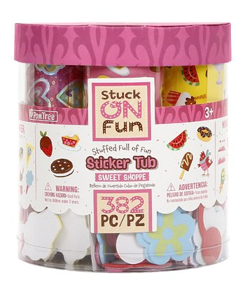 Sweet Shoppe Sticker Tub