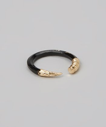 Black & Gold Pencil Ring