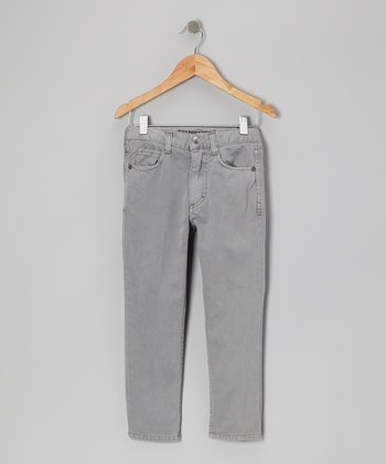 Light Gray Thrill Pants - Toddler & Boys