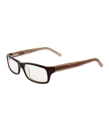 Red Detailed Eyeglasses