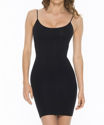 Black Shaper Camisole Dress - Women