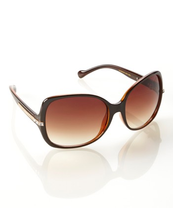 Brown Dawn Sunglasses