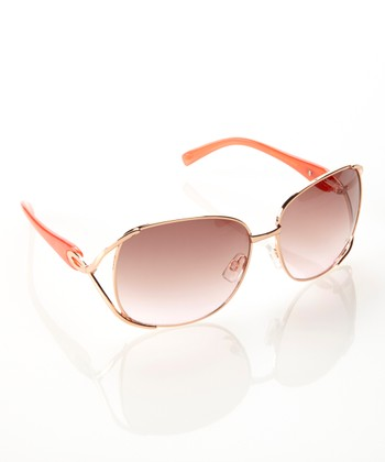 Rose Gold & Pink Opulence Sunglasses