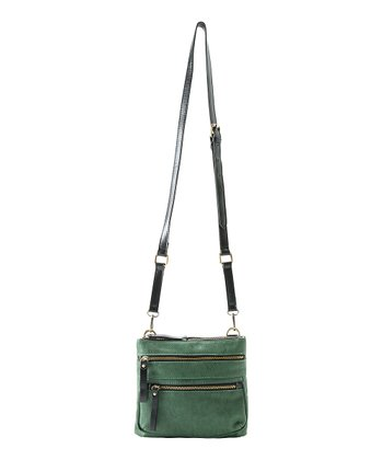 Teal Nicky Crossbody Bag
