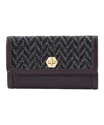 Bordeaux Dana Clutch
